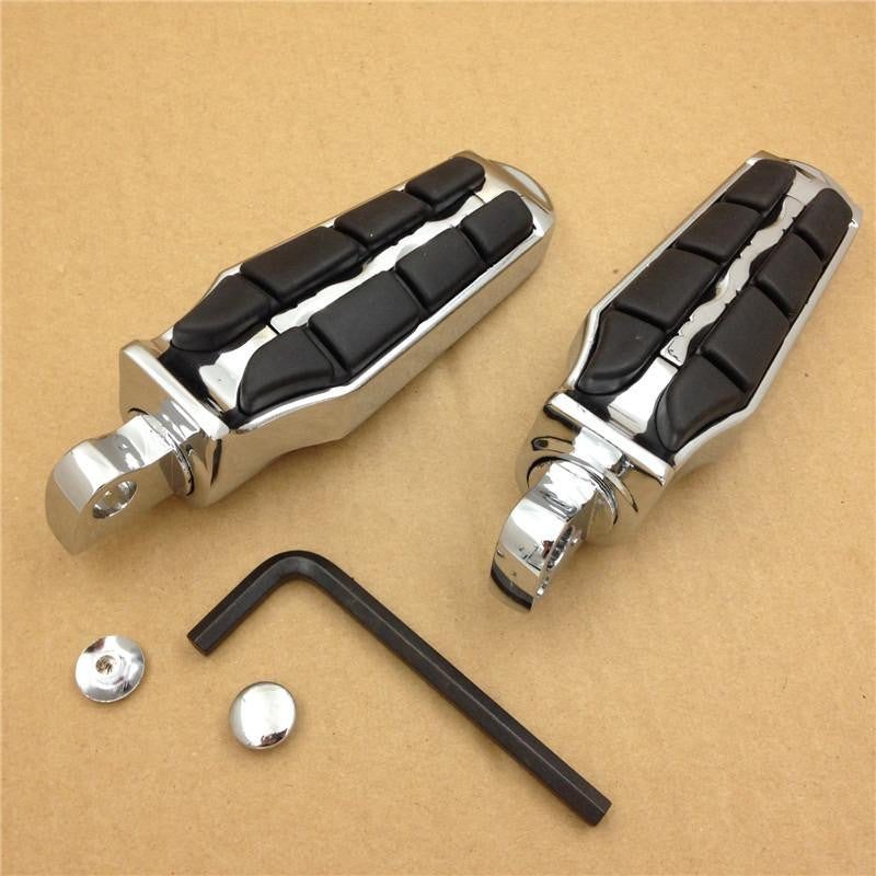 HTT 4400 Retro Foot Pegs Rest For Harley Softail Sportster Dyna Glide Fat Boy Road