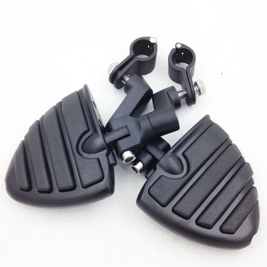 "1"" Wing Foot pegs Clamps for KAWASAKI VULCAN VN400 VN800 VN900 VN1500 VN2000"