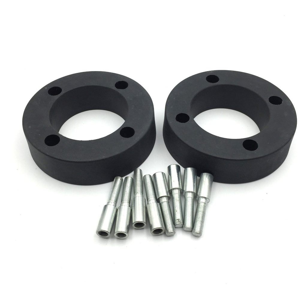 HTT Motorcycle Black Heavy Duty Urethane ATV 2.5 inch 4/110 Wheel Spacers For Arctic Cat 90cc DVX 400 Honda ATC200X Honda TRX 200 250D Honda TRX 400D 650 Rubicon