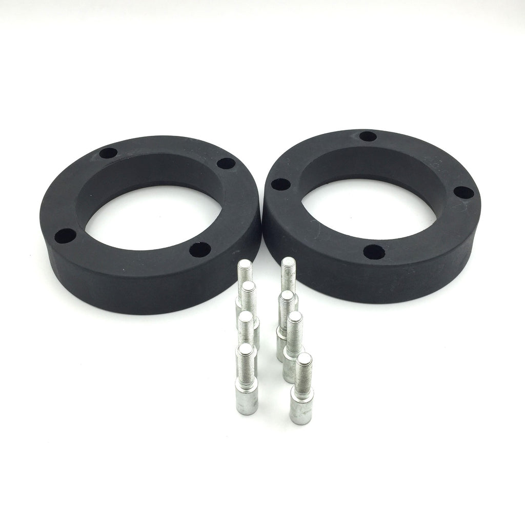HTT Motorcycle Black Heavy Duty Urethane ATV 1.5 inch 4/144 Wheel Spacers For Arctic Cat DVX 400 Honda TRX 250R 250X 50EX 300EX 400EX Kawasaki KFX 400 700 V-Force Suzuki LTZ 250 Ozark 2WD