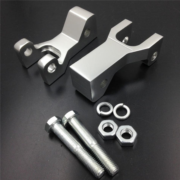Front Lowering Kits For Honda Trx 400Ex Silver Cnc Alloy Aluminum Made
