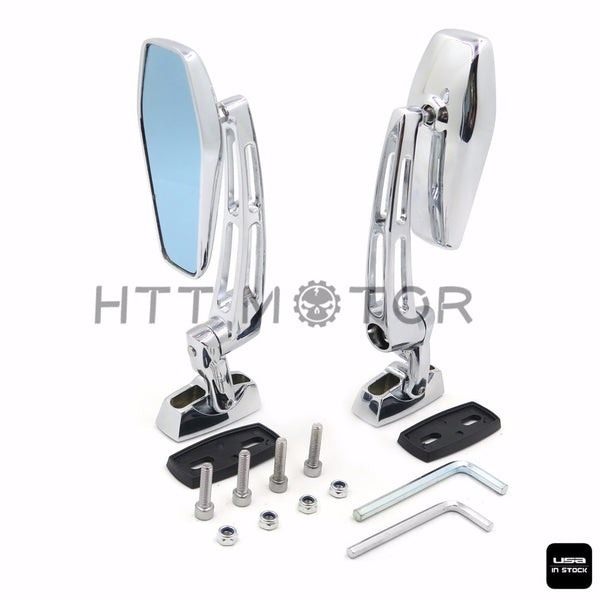 HTTMT- Rearview Mirrors Universal For 6mm Ducati Aprilia Yamaha YZF R1 R1S R6 R6S 600R