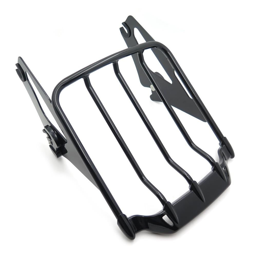 Detachable Luggage Rack For Harley '09-'17 Touring Road King/Road Glide Gloss Black