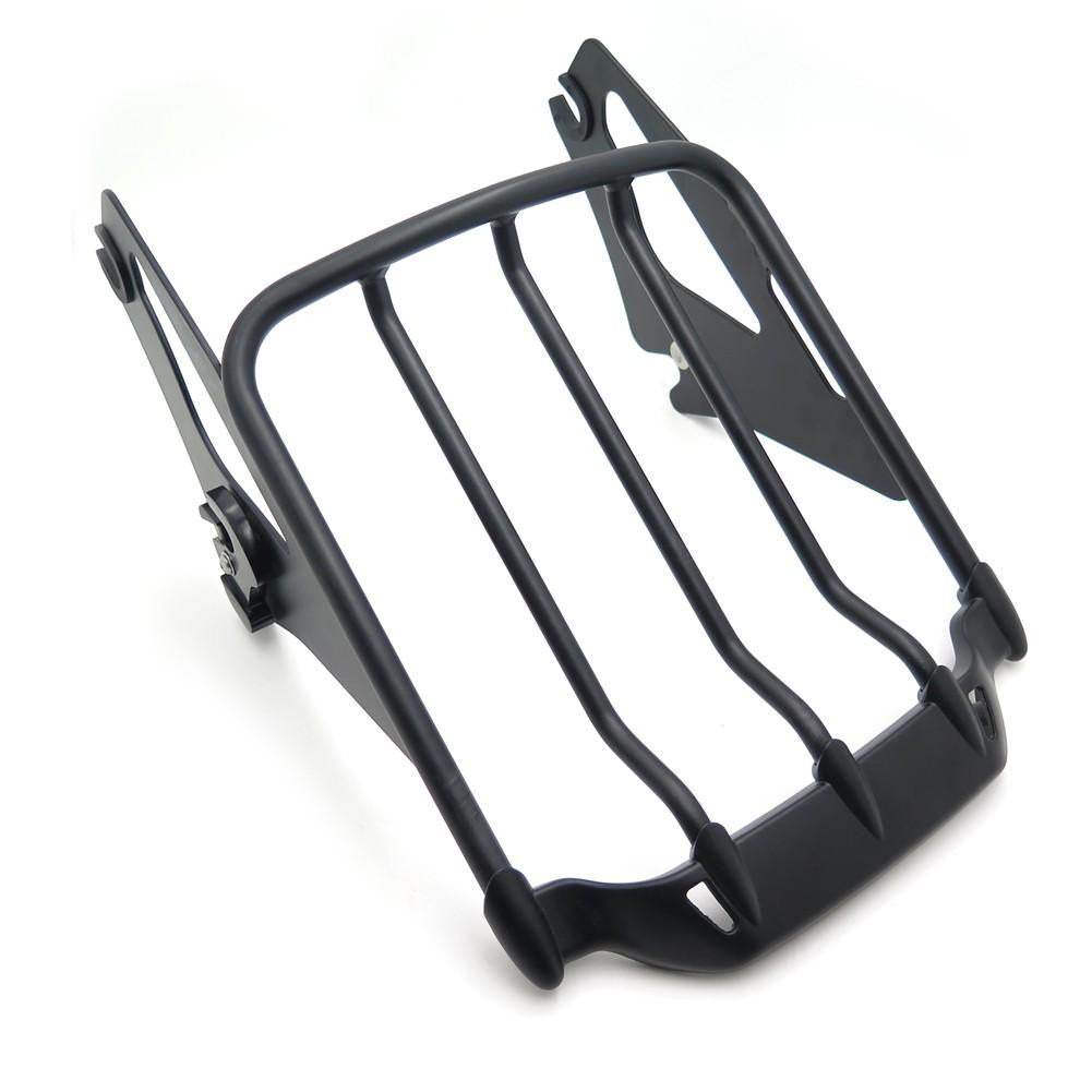 Detachable Luggage Rack For Harley '09-'17 Touring Road King/Road Glide Flat Black