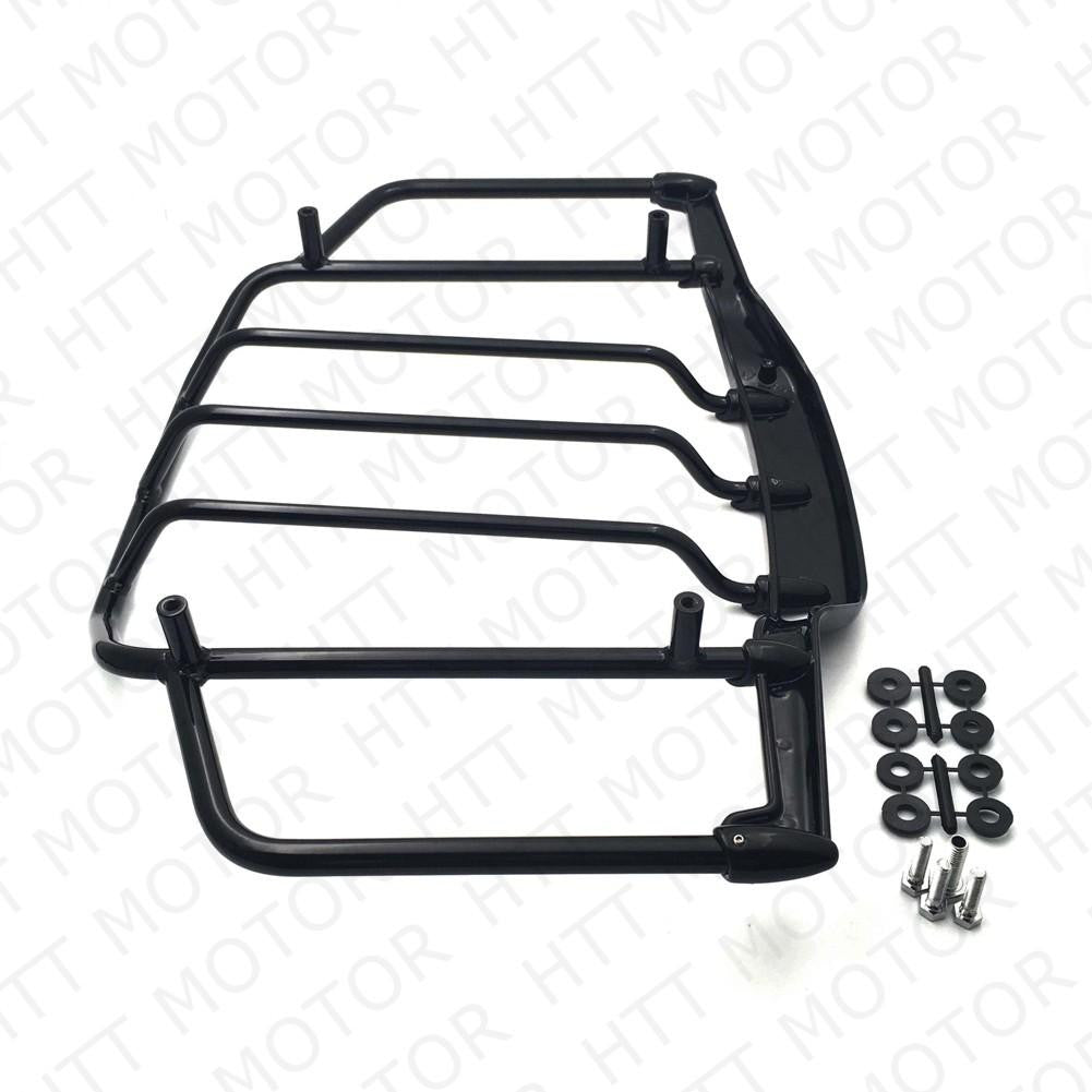 Gloss Black Luggage Rack Trail For Harley Air Wing Tour Pak Trunk Pack 1993-2013