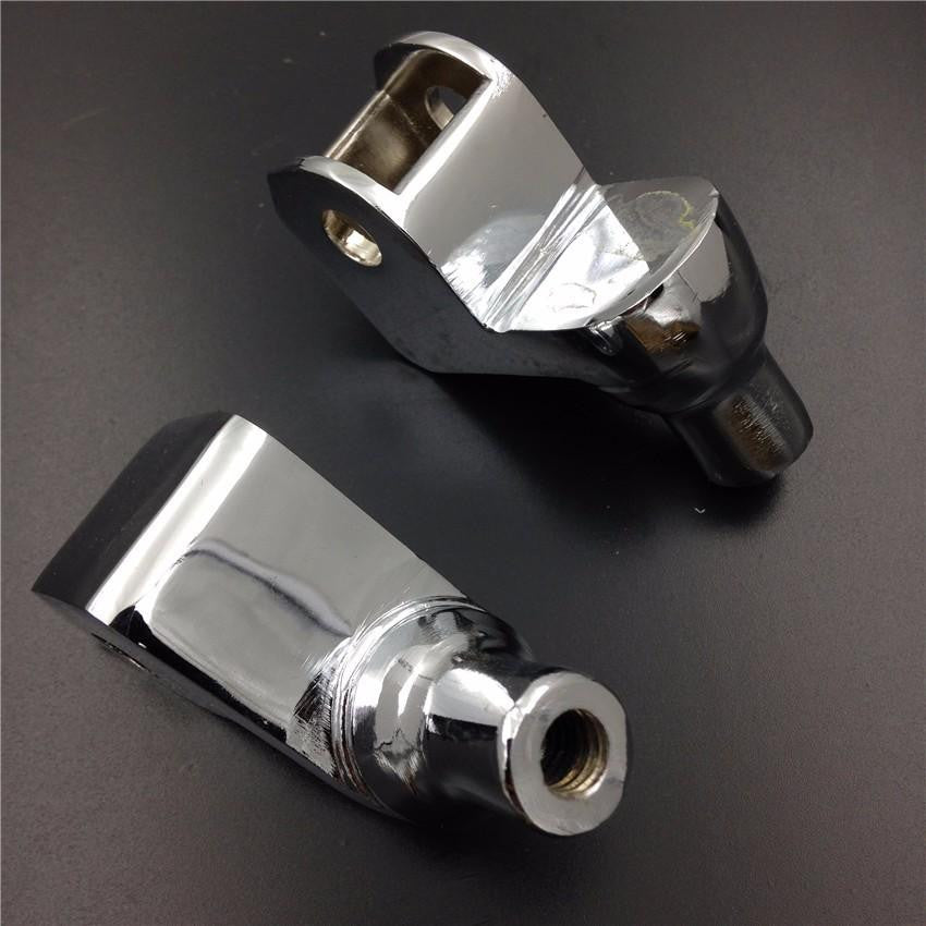 Chrome Foot Pegs installation Part Connection Fittings for Honda GoldWing GL1500 ACE 1100 Tourer Valkyrie