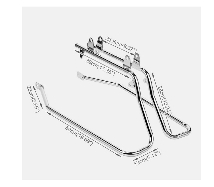 htt chrome saddlebag support conversion bracket kit for harley Batwing Fairing for Softail htt chrome saddlebag support conversion bracket kit for harley heritag htt motor