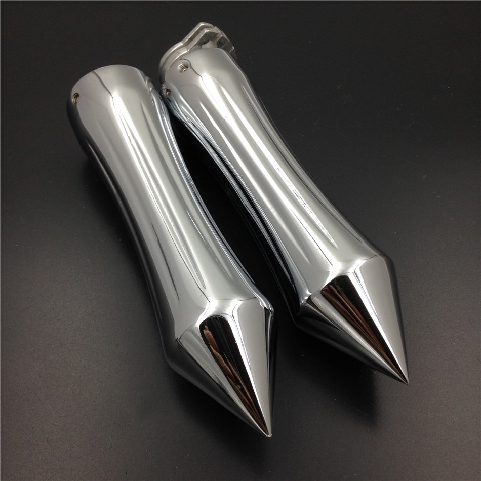 "HTT Motorcycle Chrome Hand Grips 7/8"" 22 mm For Honda CBR 600 F3 F4i 900 929 954 1000 RR ( All Models and Years)"