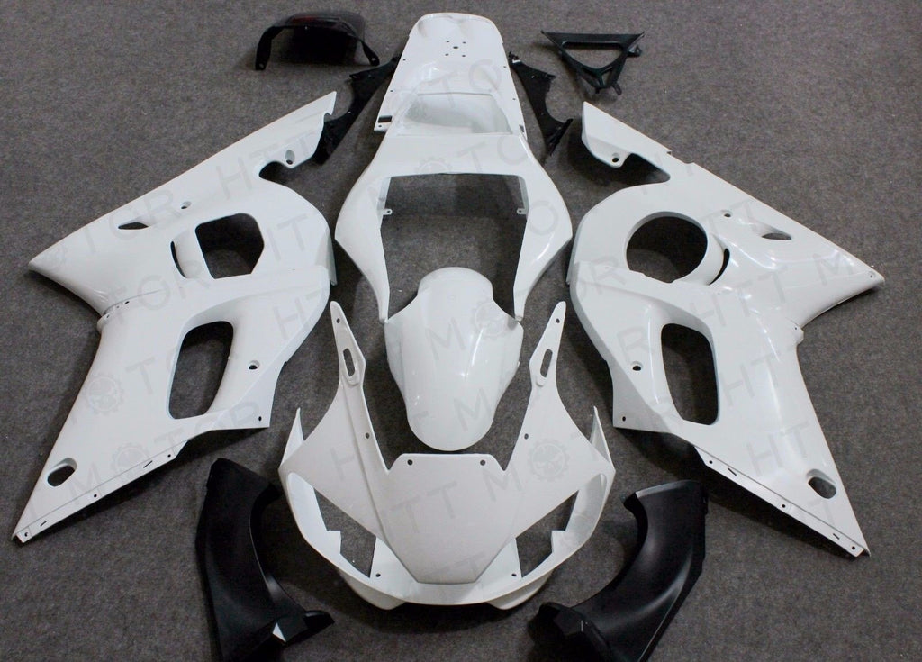 ABS Injection Fairings Kit BodyWork For YAMAHA YZF 600 R6 YZF-R6 1998-2002 99 00