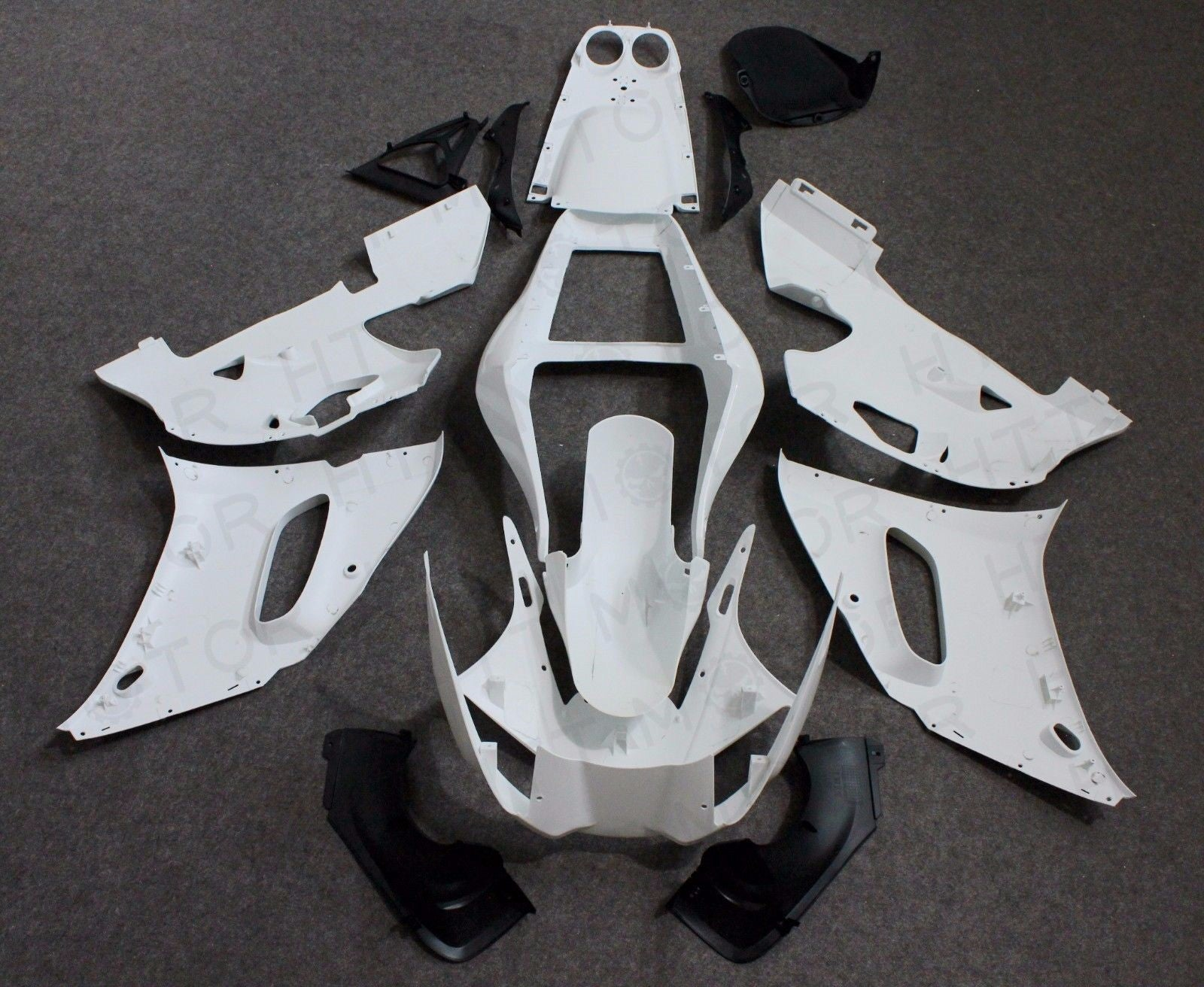 Motorcycle Parts Unpainted ABS Injection Mold Bodywork