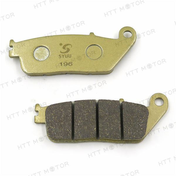 HTTMT Disc Brake Pad Set For BMW BUELL HONDA INDIAN KYMCO SUZUKI TRIUMPH VICTORY-FA196