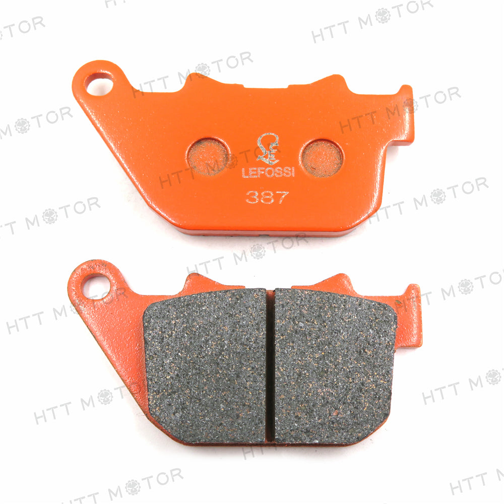 HTTMT- Carbon Ceramic Brake Pads for Harley XL883 Sportster 883 XL1200L XR1200X-FA387
