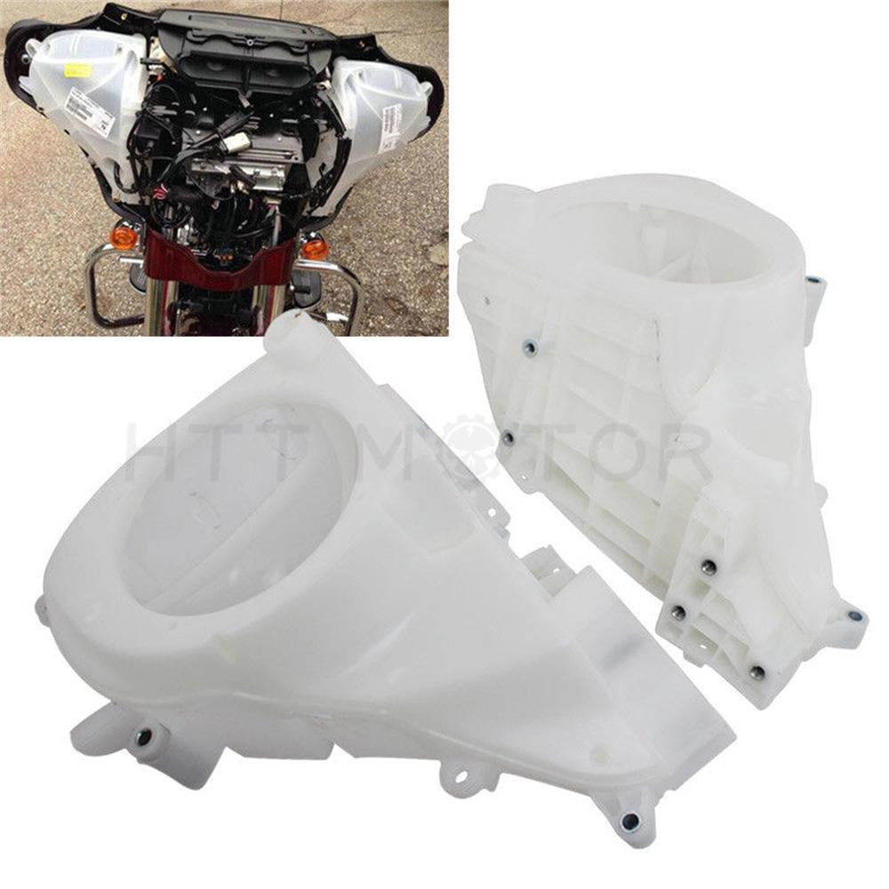 ABS Unpainted Inner Fairing Speakers Cover For Harley Electra Street Glide 14-18