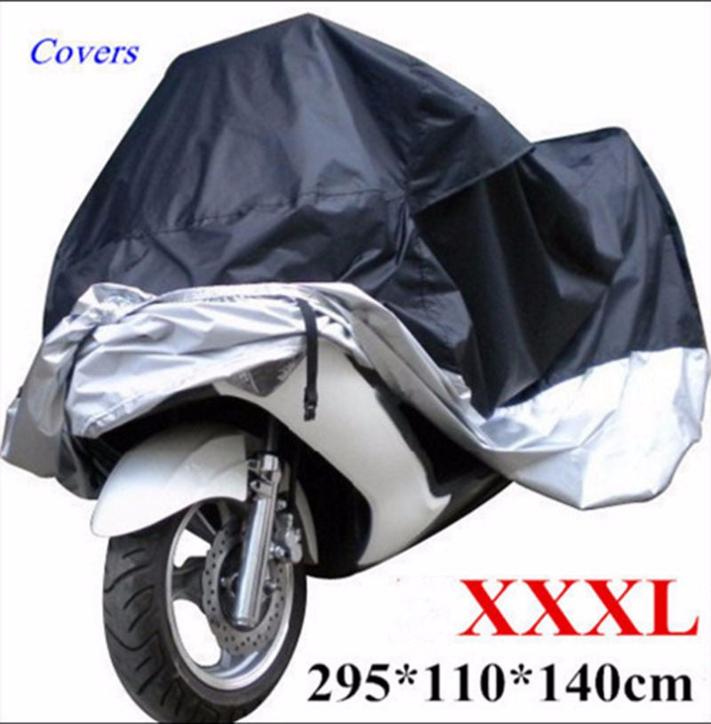 Protective Dust Waterproof Cover for Motorcycle Street Bikes Outdoor Indoor XXXL