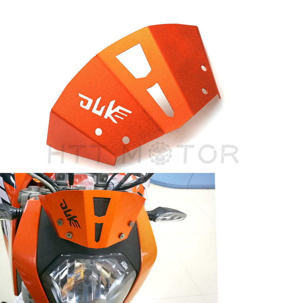 HTTMT- Orange Aluminum Wind shield Windscreen for KTM 125 200 250 Duke 390 Duke 2011-16