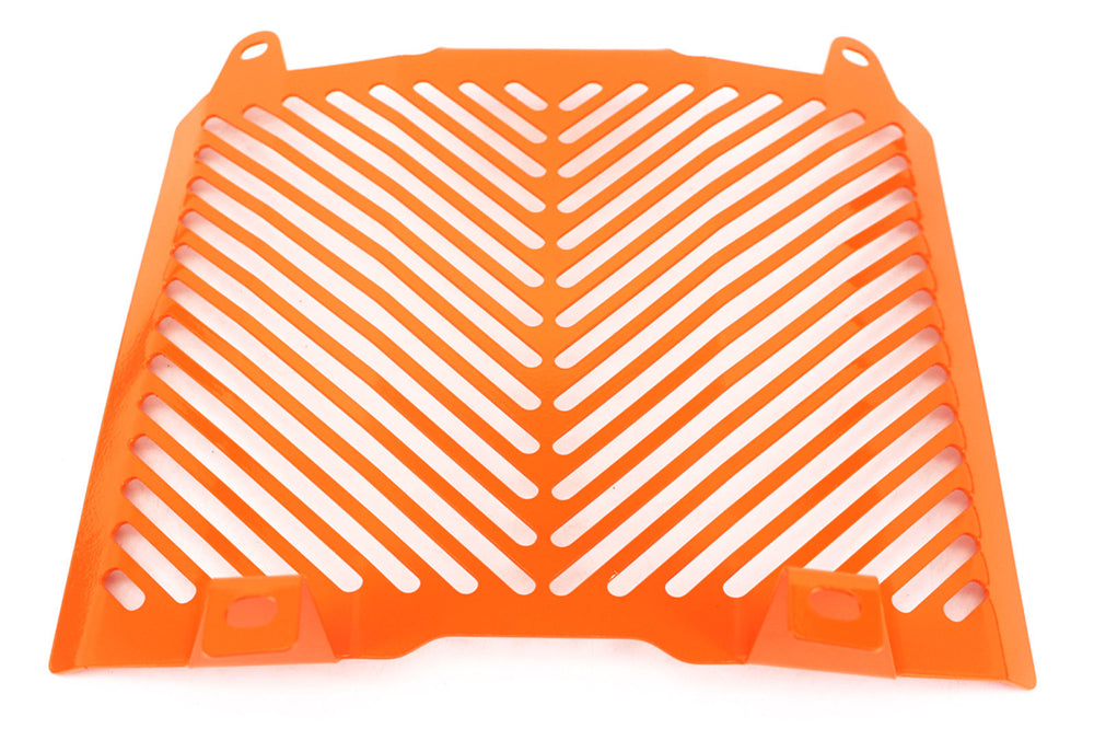 HTTMT Radiator Grille Protection Water Tank Guard for KTM 690 Duke 2012-2017 Orange