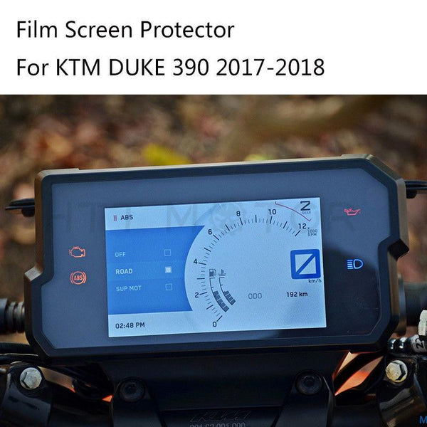 For KTM DUKE 390 2017-2018 Dashboard / Speedo Screen Protector Film Screen