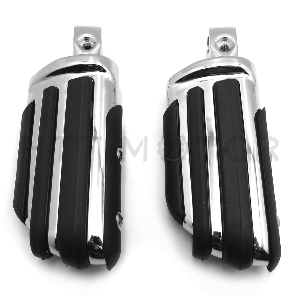 Rubber Pilot Footpeg For Suzuki Boulevard Intruder S83 VS1400 Marauder 800 VZ800