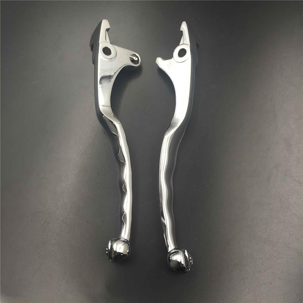 Chromed Brake Clutch Skull Hand Levers For Kawasaki Vulcan 1500 1600 2003-2008