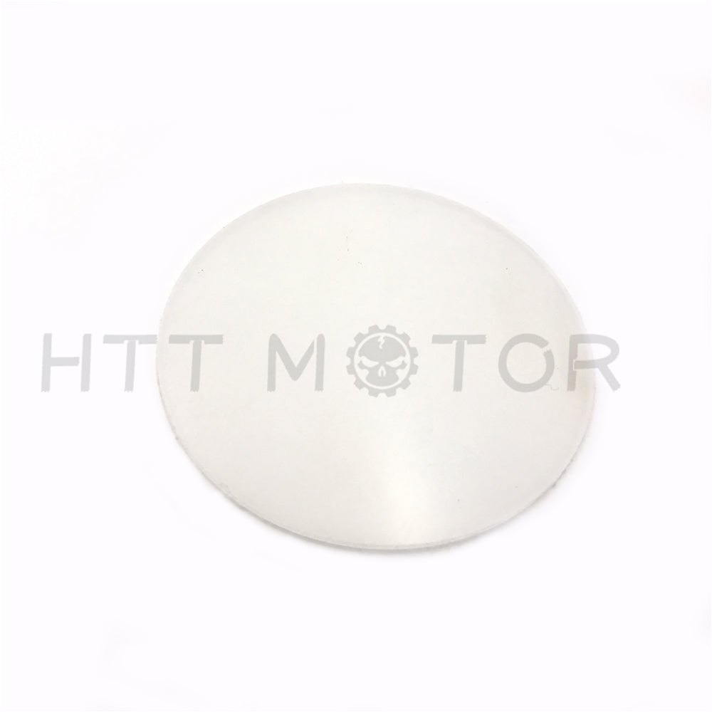 "HTTMT- Universal Use Plastic White Round Circle Plate diameter 50mm 1.95"" thickness 1mm"