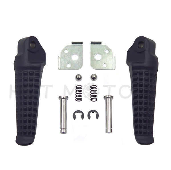 HTTMT- Motorcycle Rear Foot Peg Footrest for Honda CBR600F4 2003-2004 Matte Black