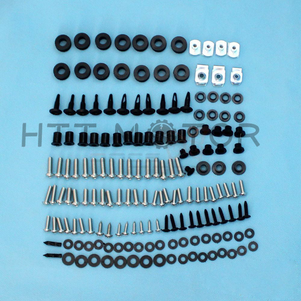 HTTMT- NEW Motorcycle Complete Fairing Bolt Kit Body Screws For Honda CBR600RR 05-06