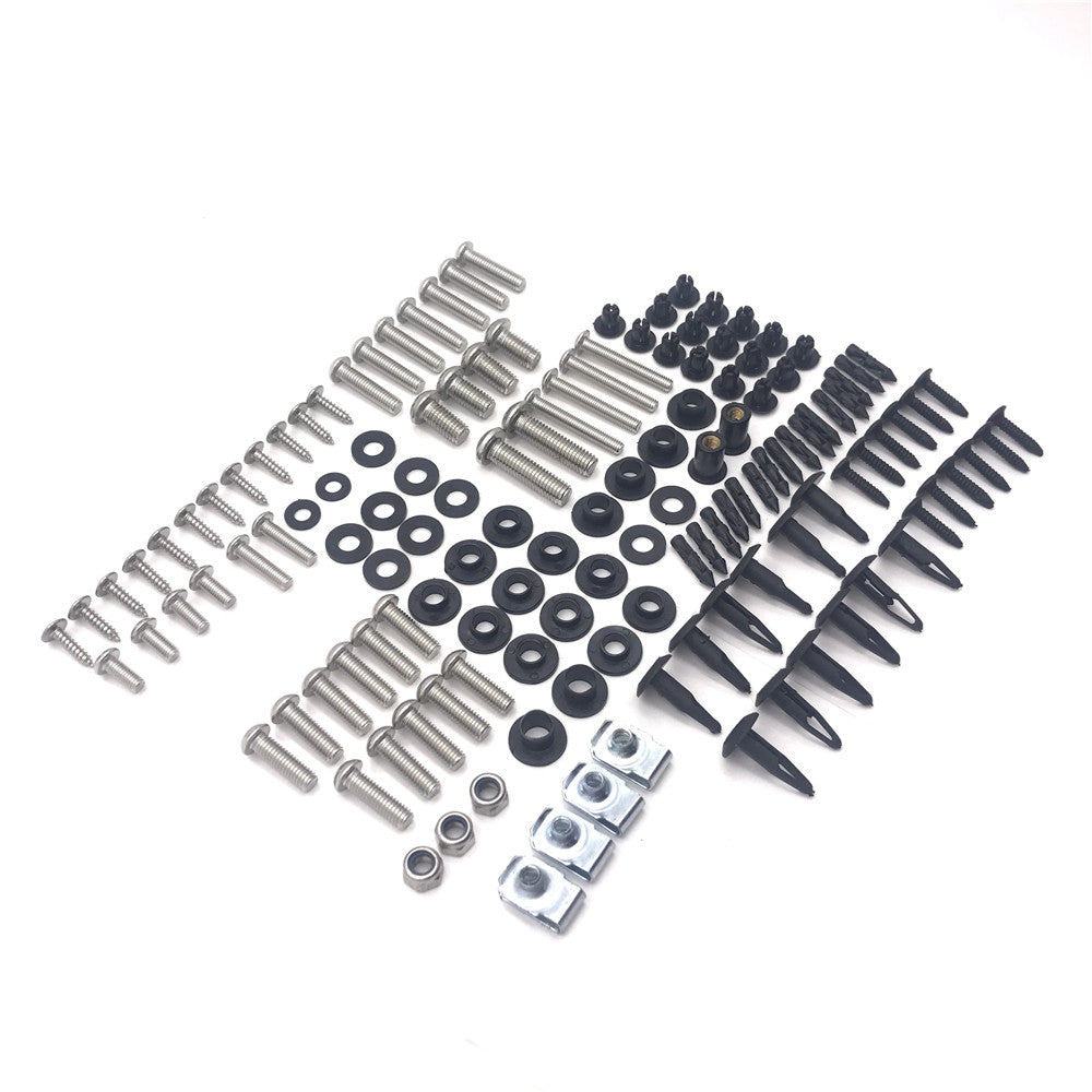 HTTMT- Fairing Bolt Kit Screw Bolt Fastener For 08-15 Suzuki Hayabusa GSX-R1300 Complete