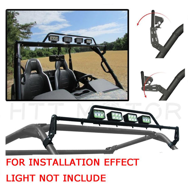 "Adjustable LED Light Bar Universal 2"" Mount Can-Am Commander Kawasaki Teryx RTV"