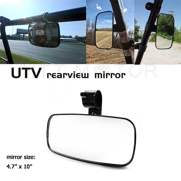 HTTMT- UTV Rear/Side View Mirror for Polaris RZR 800 900 Ranger XP 700 900 Arctic Cat