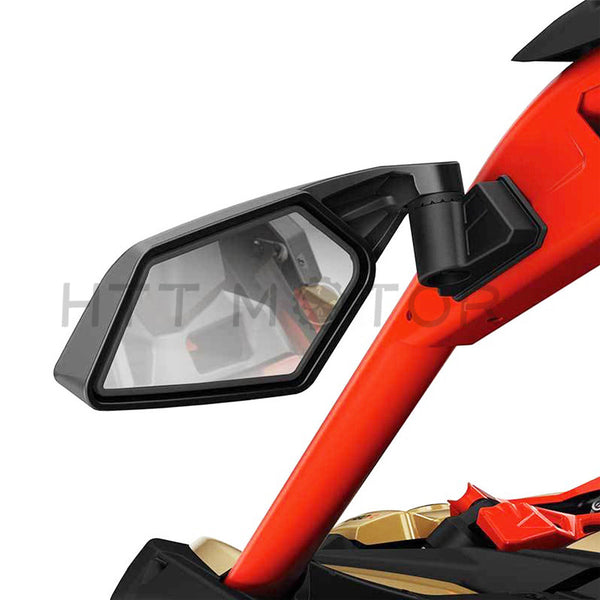 HTTMT- New Racing Side Mirrors For Can-Am Maverick X3 & MAX SSP UTV Off-road