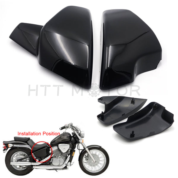 HTTMT- Fit Honda VLX 600 99-08 VT 600 C CD Shadow VLX Deluxe 99-07 Battery Cover Side