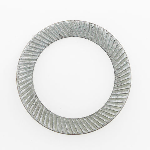 Knurled / Lock Washers Metric White Zinc Plated - Fast-n-rs
