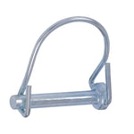 Lock Pin Round 1 Wire Zinc Plated - Fast-n-rs