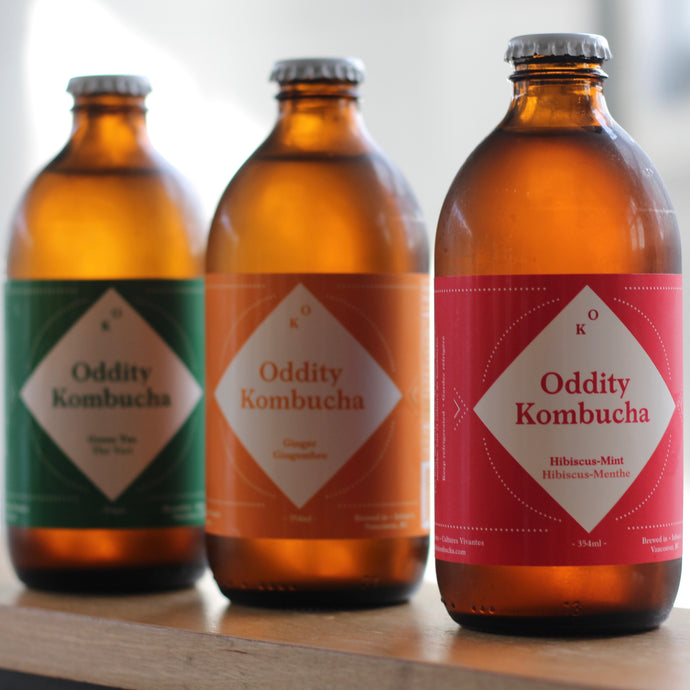 Oddity Kombucha now in Stock