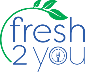 fresh 2 you logo blank background