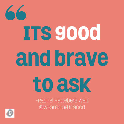 Ask yourself questions. Self Care. Craftingood. Self Compassion