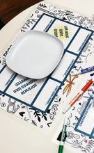 Load image into Gallery viewer, 50% Off! Dinner Table Conversation Placemat- Digital Download