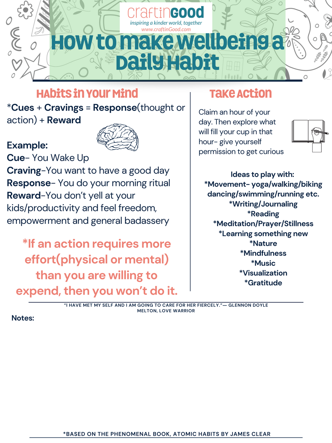 FREE Workshop! How to Make Your Wellbeing a Habit!