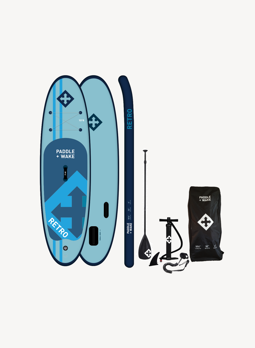 Retro 10'6 Inflatable Paddle board