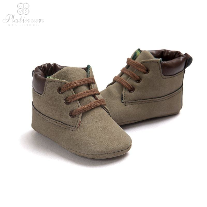 Baby Soft Soled Boots - 5 Colors