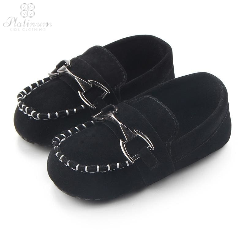 Kids Loafers With Buckle