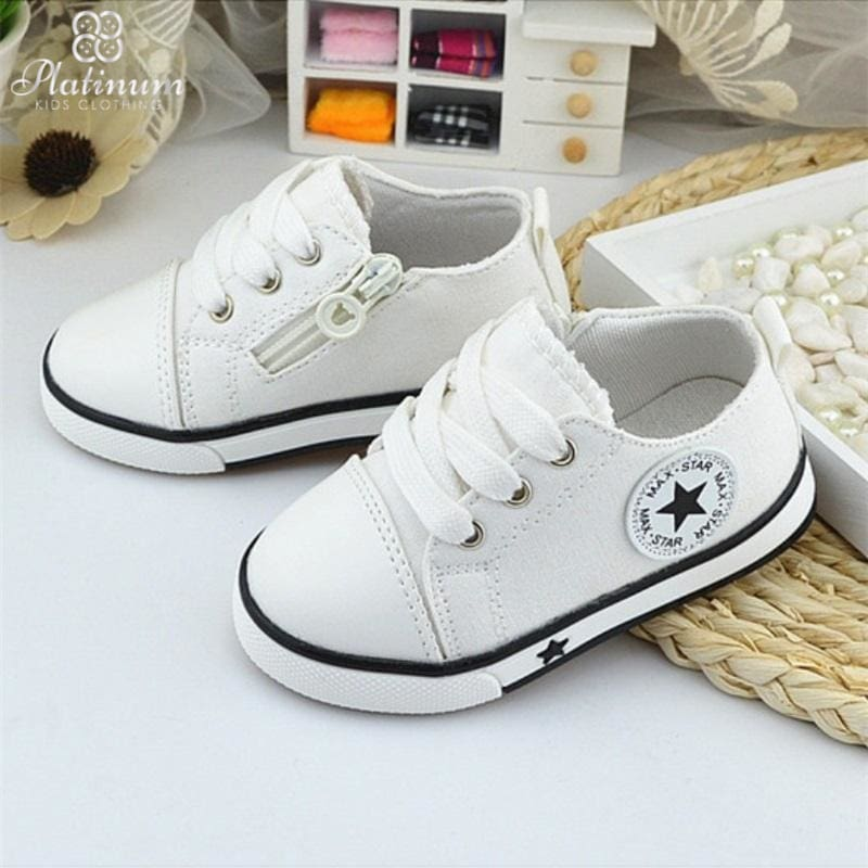 Baby Breathable Canvas Shoes