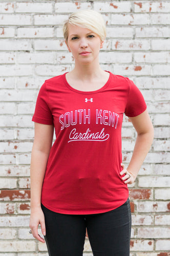 UA® Ladies Charged Cotton Tee