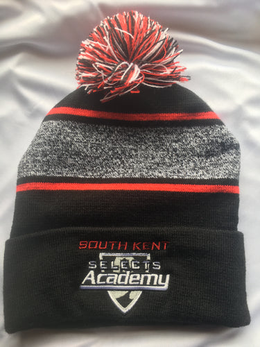 South Kent Selects Academy Pom-Pom Knit Beanie Hat