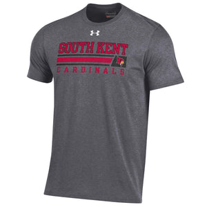 UA® Short Sleeve Charged Cotton Tee Carbon Heather