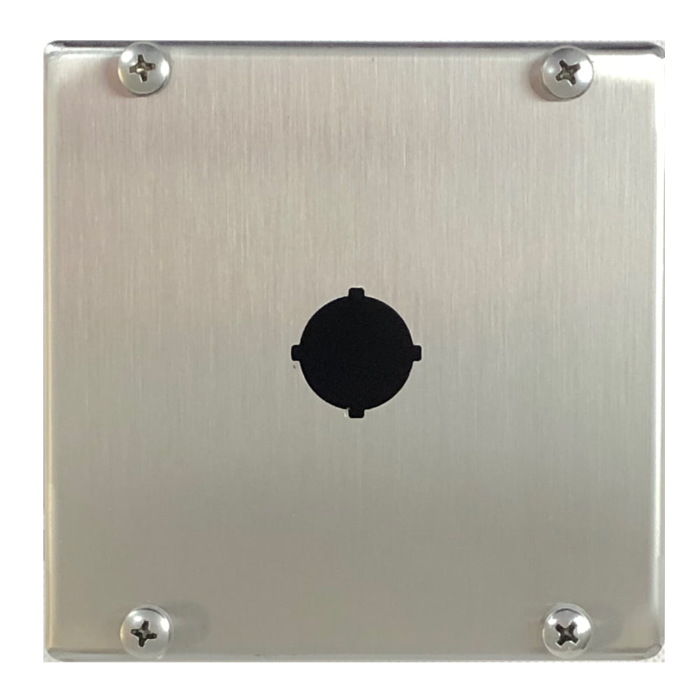 Single Hole Push Button Enclosure 316 Stainless Steel 120