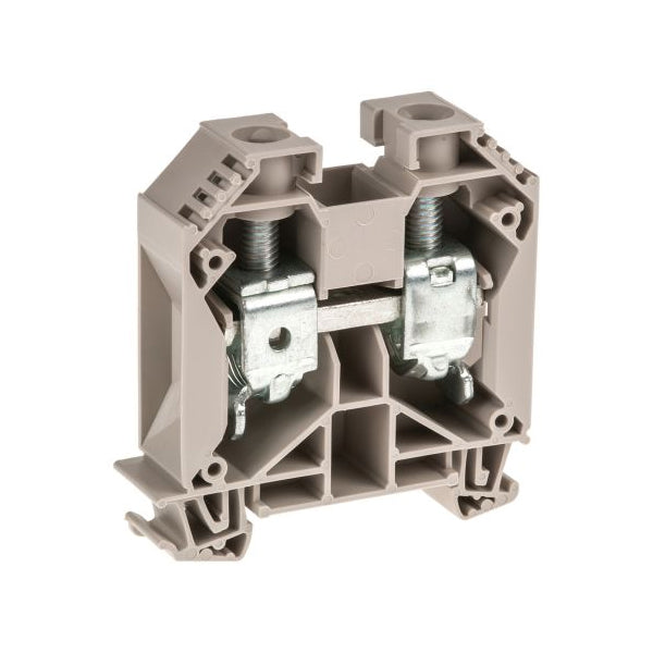 WDU 35 Feed-through terminal, Screw connection, 35 mm² Dark Beige - Weidmuller