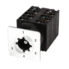 IMO Cam Switch 2 Pole 5 Position 20 Amp Step
