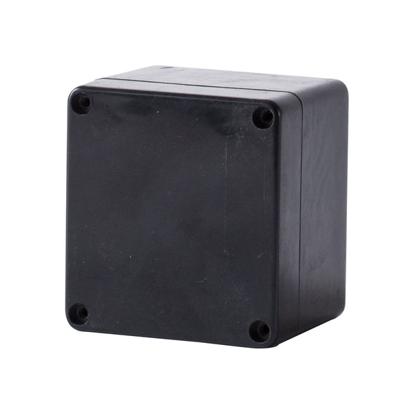 GRP Terminal Box 120 x 125 x 90 Black IP68
