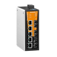 Weidmuller Network Switch 5 Port 5 x RJ45 with 3 x SC